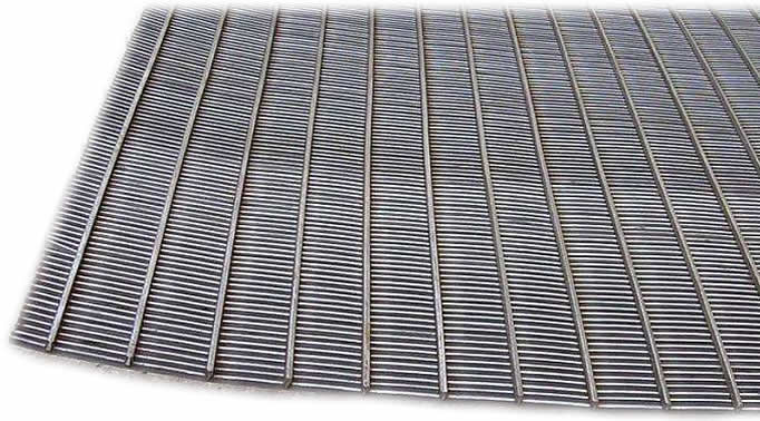 Galvanised Steel V Wire Slotted Screen